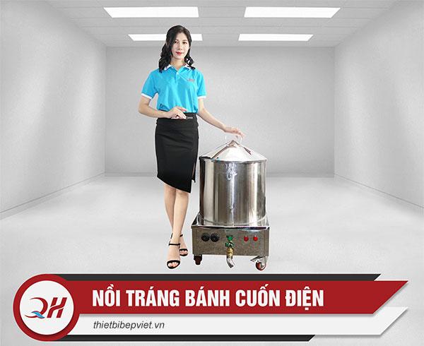 Mẫu nồi tráng bánh cuốn điện Quang Huy