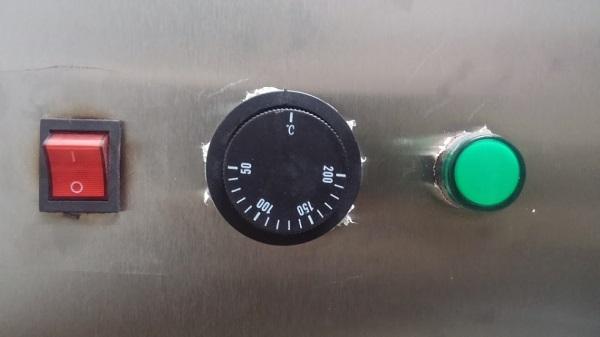 Núm điều chỉnh nhiệt độ dễ dàng