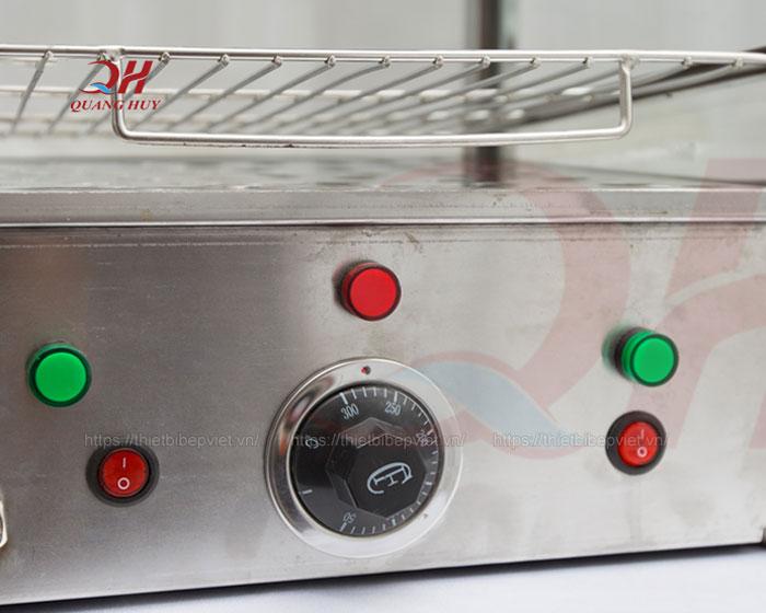 Núm xoay điều chỉnh nhiệt độ tủ trưng bày bánh bao