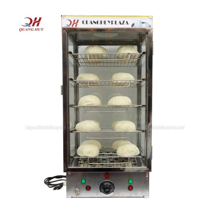 Tủ bánh bao giữ nóng 5 tầng Quang Huy
