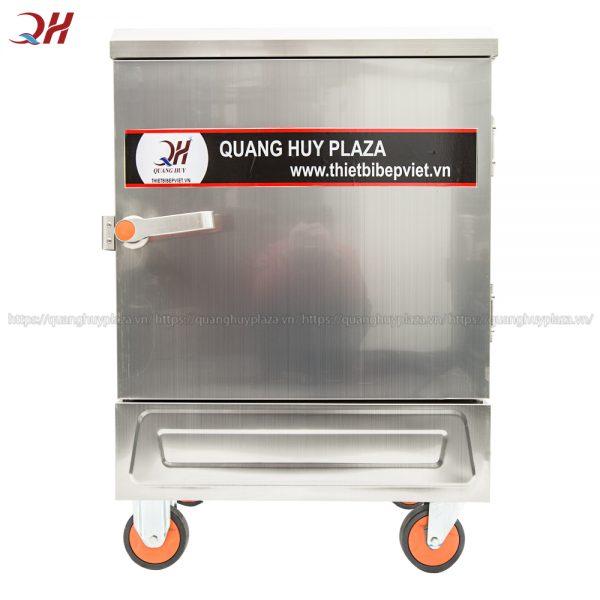 Tủ cơm công nghiệp 6 khay điện với thiết kế nhỏ gọn