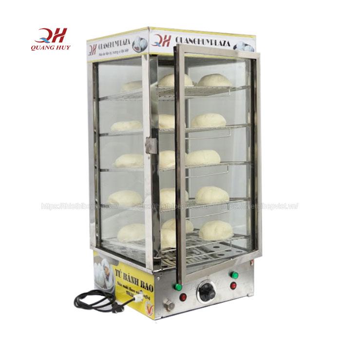 Tủ trưng bày bánh bao 5 tầng  BBQH-05