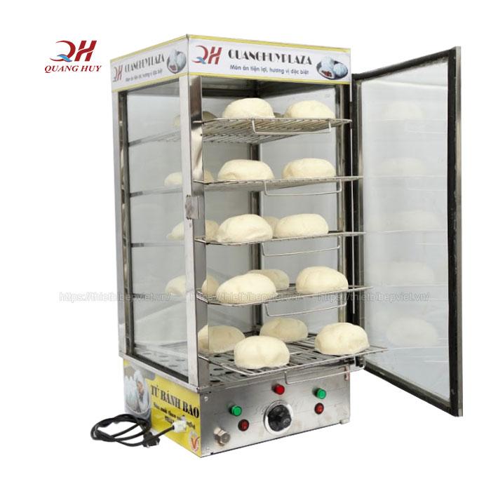 Tủ giữ nóng bánh bao 5 tầng BBQH-05