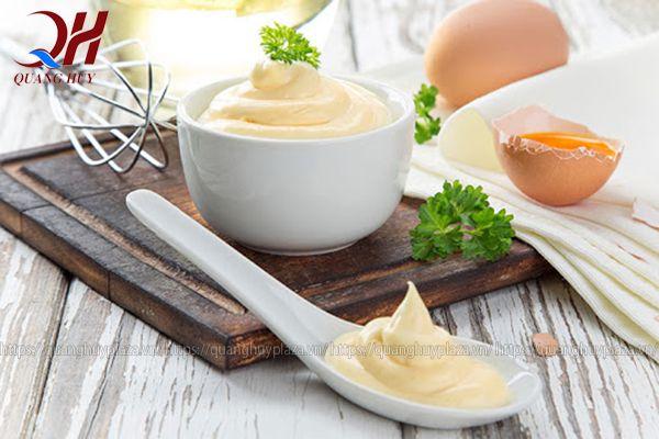 Nước sốt mayonaise bánh mì kebab