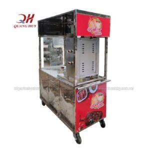Quang Huy phân phối xe bán bánh mì 1m8 trên toàn quốc