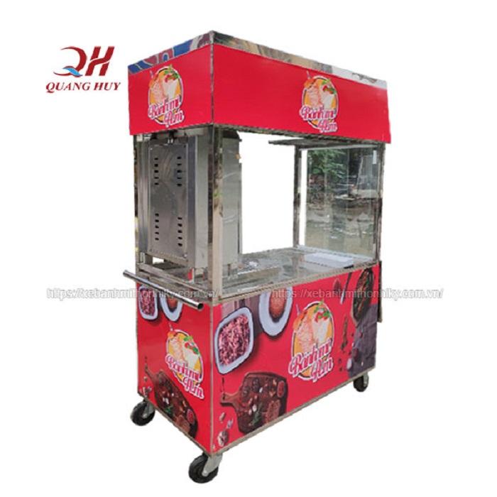 Trọn bộ xe đẩy bánh mì giá rẻ tại Quang Huy