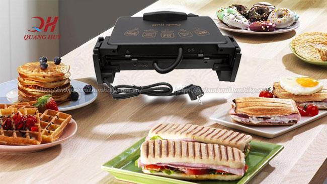 Đa năng trong chế biến là những gì mà người ta nhắc đến máy kẹp bánh mì này