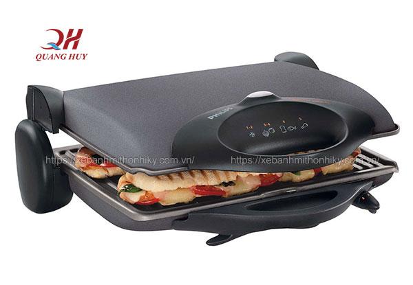 Chiếc bánh mì sandwich của bạn sẽ nóng giòn thơm ngon hơn nhờ máy kẹp nóng bánh mì
