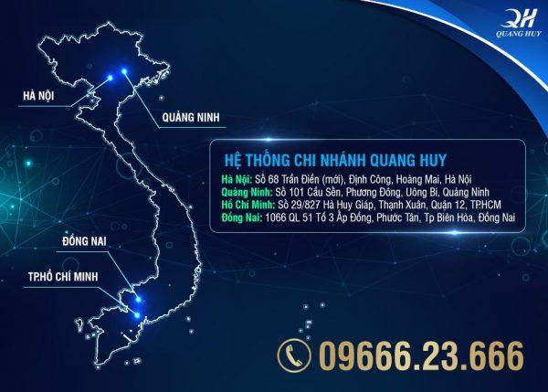 Bạn có thể tìm mua tại các hệ thống chi nhánh cửa hàng của Quang Huy