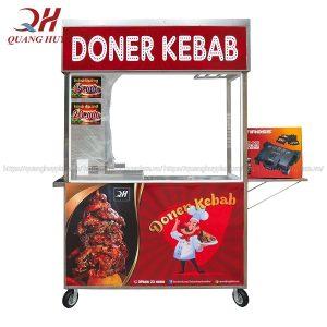 Xe bánh mì doner kebab người bạn đồng hành trong kinh doanh bán bánh mì