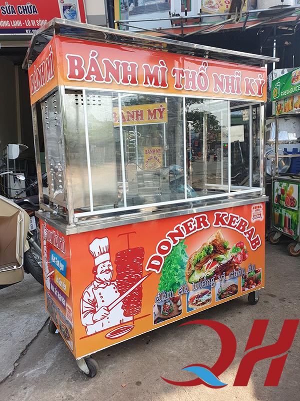 Xe bánh mì thổ nhĩ kỳ do Quang Huy sản xuất
