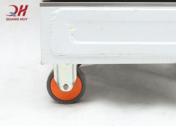 Hệ thống bánh xe hỗ trợ quá trình di chuyển dễ dàng hơn