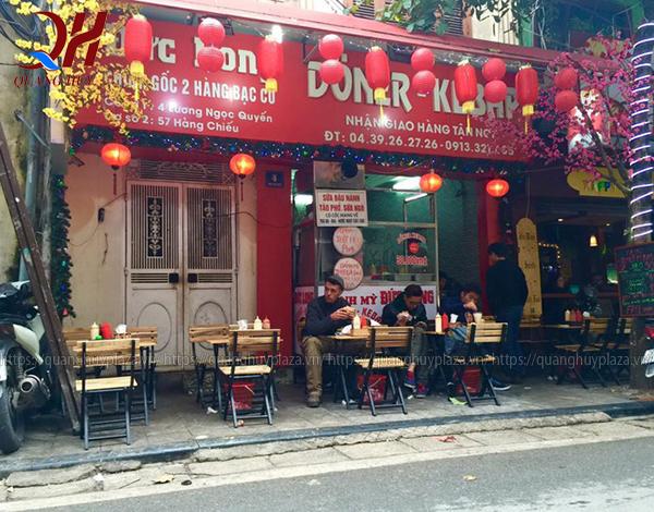 Không gian tiệm bánh mì Doner Kebab Đức Long