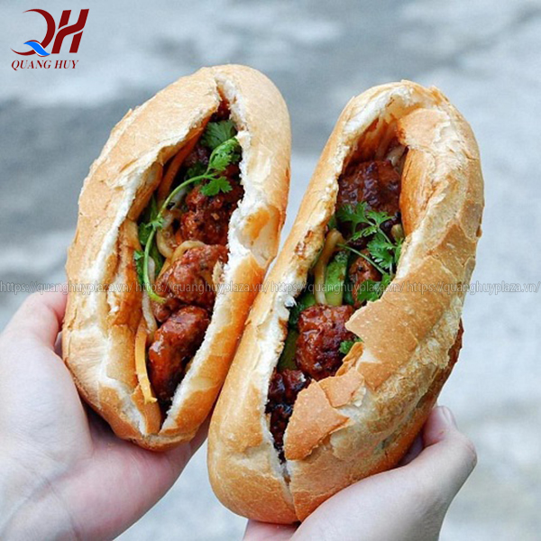 Bánh mì thịt nướng là món ăn được nhiều người ưa chuộng