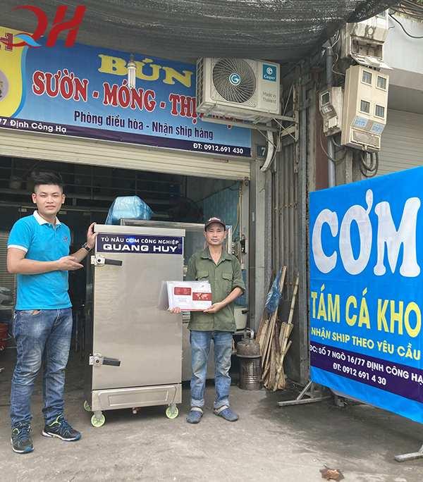 Quang Huy địa chỉ mua tủ nấu cơm rượu đáng tin cậy của mọi khách hàng