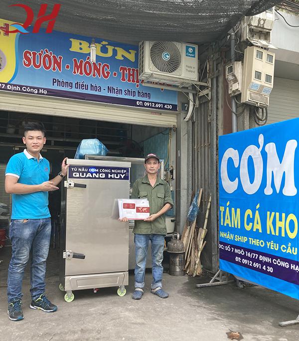Quang Huy - địa chỉ mua tủ nấu cơm công nghiệp giá rẻ