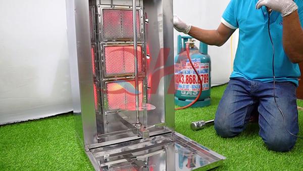 Lò nướng thịt Doner Kebab cao cấp