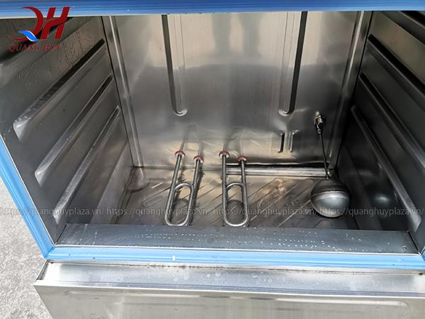 Tủ cơm công nghiệp chạy điên sử dụng thanh nhiệt
