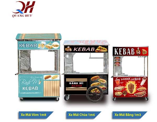 Tại Quang Huy có rất nhiều mẫu xe bánh mì khác nhau cho bạn có thể chọn lựa