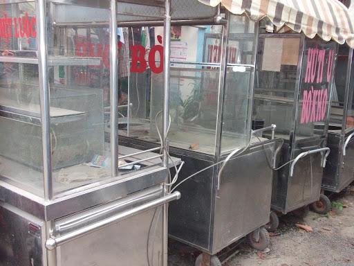 Tủ xe bánh mì cũ có hình thức xấu xí, kém chất lượng