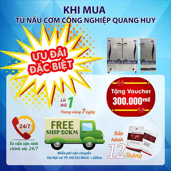 Chế độ ưu đãi cực hấp dẫn chỉ có tại Quang Huy