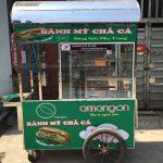 Quang Huy chuyên sản xuất và phân phối các mẫu xe bánh mì chả cá chất lượng
