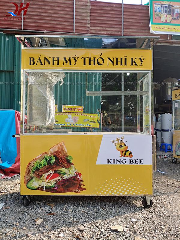 Xe bán bánh mì thổ nhĩ kỳ do Quang Huy sản xuất và phân phối năm 2020
