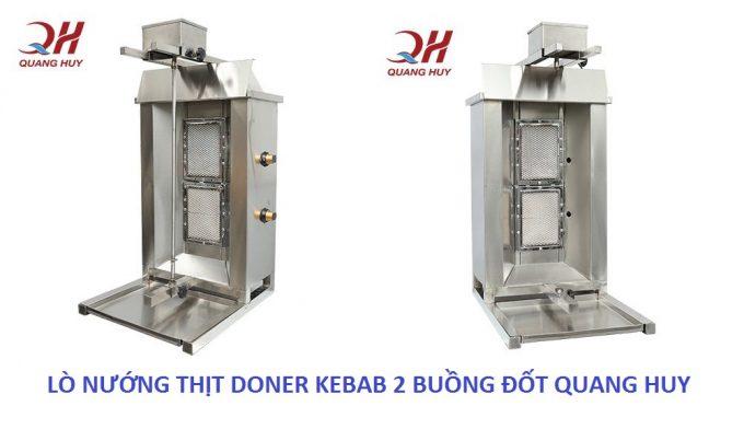 Cây bánh mỳ Doner Kebab 2 buồng đốt