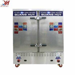 Tủ cơm công nghiệp 24 khay gas tại Quang Huy