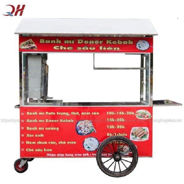 Xe bánh mì thổ nhĩ kỳ 2m gia công tại Quang Huy