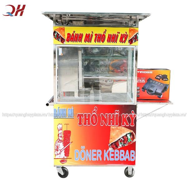 Xe bánh mì thổ nhĩ kỳ 70cm mẫu mới sản xuất tại Quang Huy