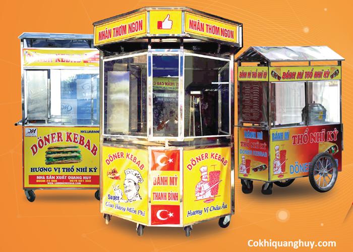 Địa chỉ cung cấp xe bánh mì thổ nhĩ kỳ tại Tp Hồ Chí Minh uy tín giá rẻ 3