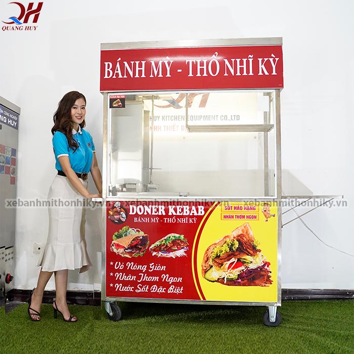 Xe bán bánh mì thổ nhĩ kỳ được sản xuất phân phối bởi Quang Huy