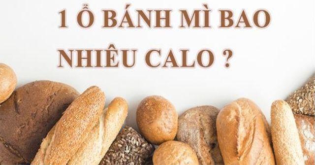 1 chiếc bánh mì bao nhiêu calo