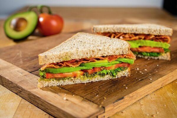 Bánh mì kẹp sandwich