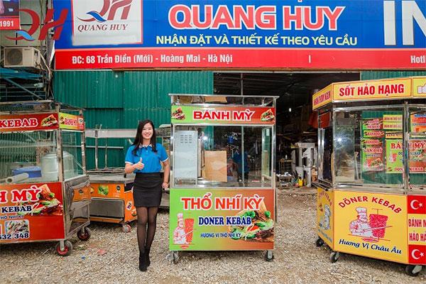 Xe bánh mì có mái che tại Quang Huy