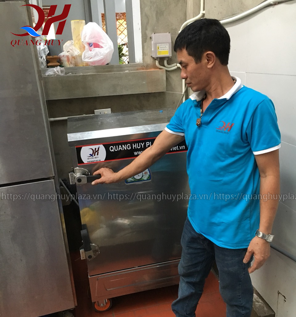 1 số lưu ý trong quá trình sử dụng tủ nấu cơm công nghiệp