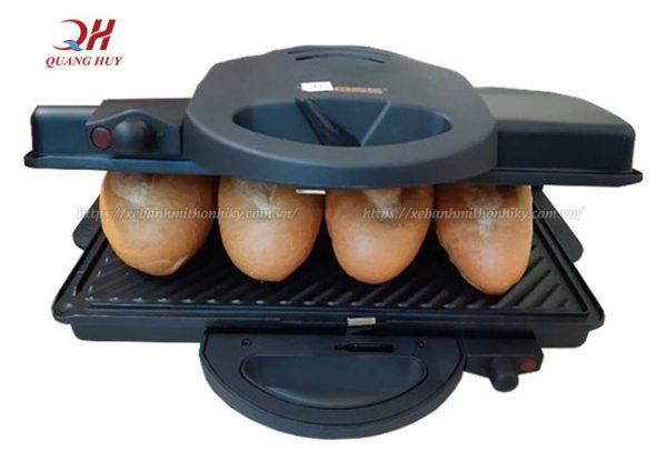 Cách sử dụng máy kẹp bánh mỳ Tiross 9654