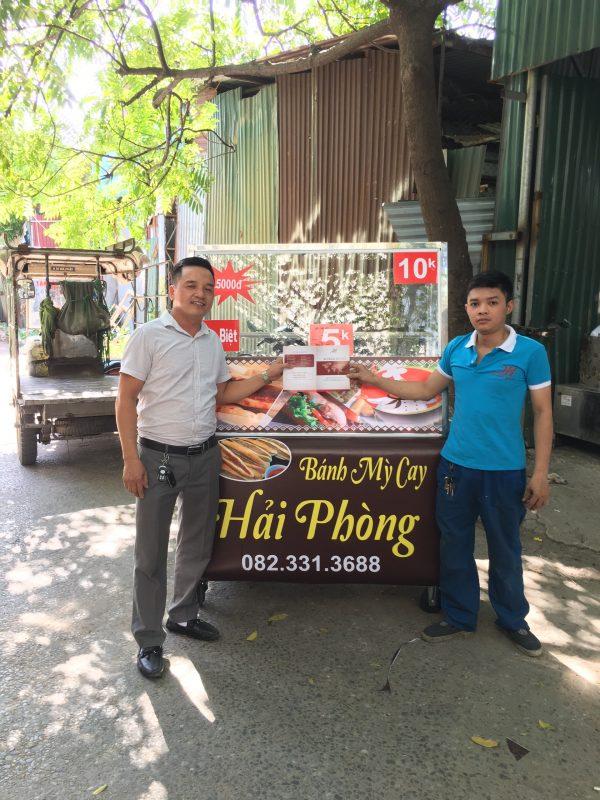 Đầu tư ngay cho mình mẫu xe bánh mì que tại Quang Huy