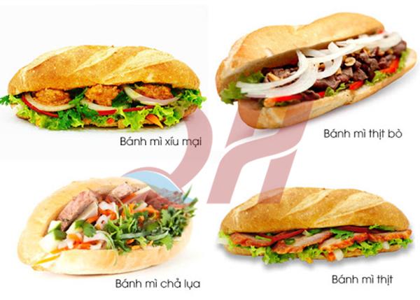 Lựa chọn cho hàng quán của bạn 1 món bánh mì để bán tiềm năng nhất