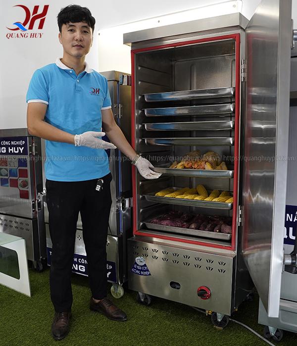 Mua tủ cơm công nghiệp tại Quang Huy bạn sẽ được hướng dẫn cụ thể chi tiết nhất