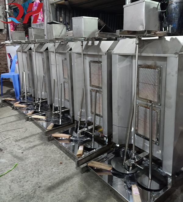 Cây nướng thịt kebab Quang Huy giá bán rẻ nhất thị trường