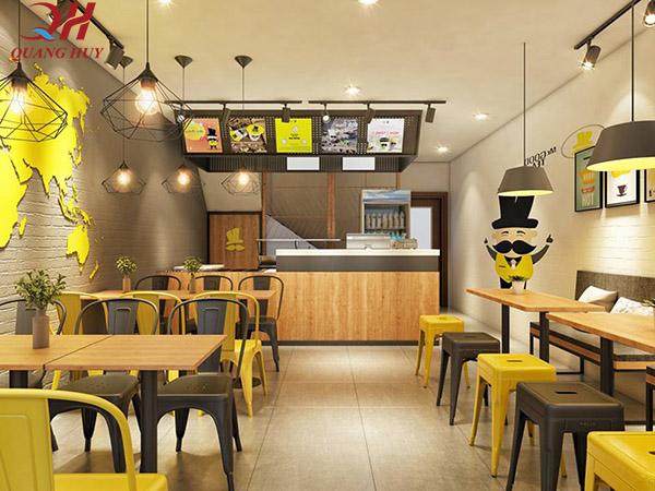 Biết cách thiết kế sẽ giúp quán ăn của bạn trở nên sang trọng hơn
