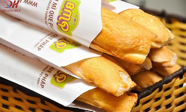 Giấy bọc bánh mì Fort trắng chuyên dụng