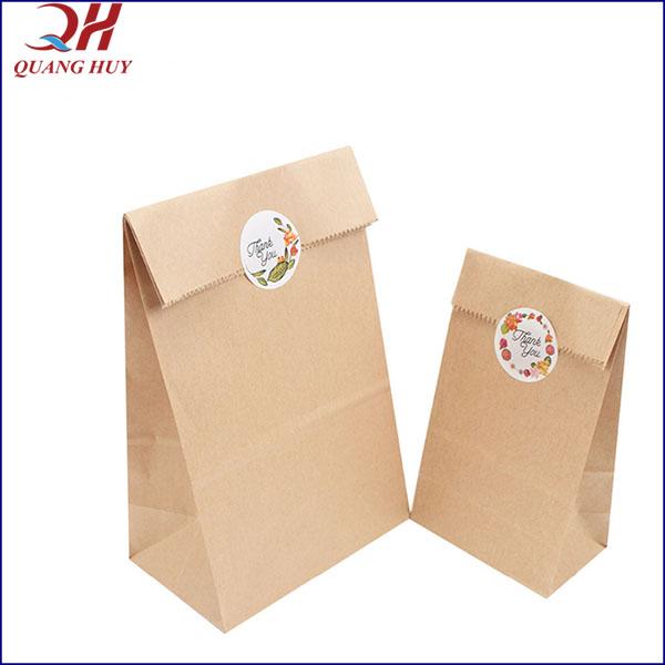 Túi giấy Kraft chống thấm, chống ẩm tốt