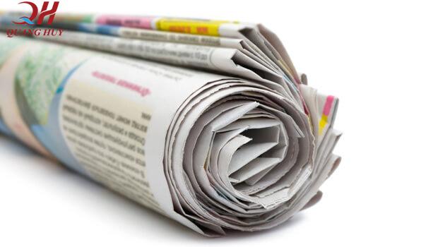 Sử dụng giấy báo nhiều, tiềm ẩn nguy cơ ảnh hưởng sức khỏe.