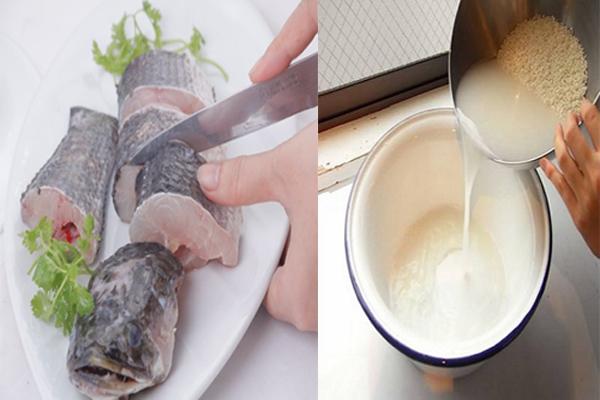 Sơ chế, khử mùi tanh của cá