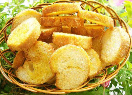 Bánh mì nướng bơ đường hấp dẫn dành cho trẻ