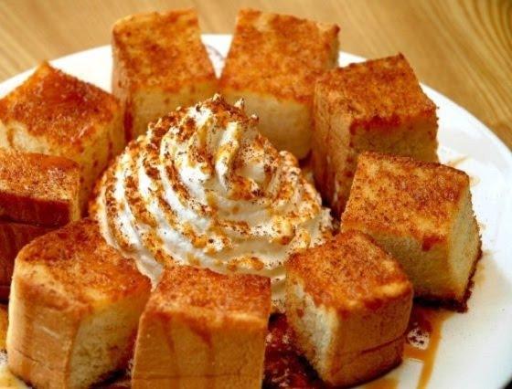 Bánh mì nướng Caramen
