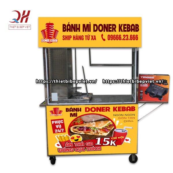 Kinh doanh bánh mì với xe bánh mì Kebab